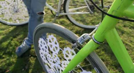 Pedal-Powered Kinetic Pictures