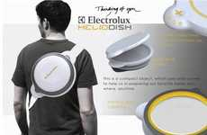 Backpack Cooking Concepts - The Electrolux HelioDish is Designed for Hungry Hikers