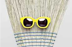Mop-Faced Lookbooks - Karen Walker Sweeps Up the Competition for Her SS12 Campaign