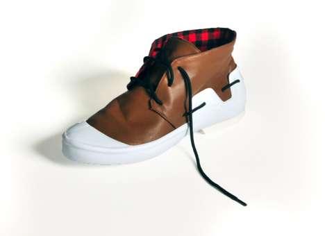 Eco-Friendly Disassembling Footwear