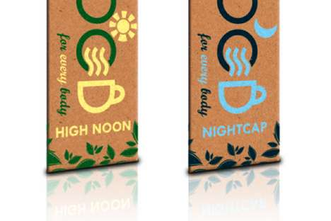 Holistic Beverage Branding - Good Tea Packaging is Healthy for the Drinker and the Planet