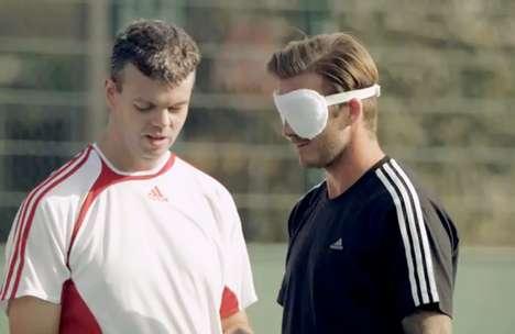 Blindfolded Soccer Stars