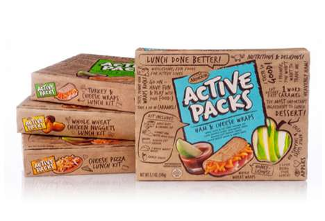 Busy Snack Branding - Active Packs Packaging Alludes to High-Energy Food
