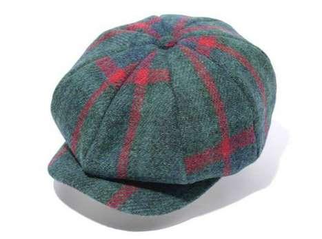 Posh-Patterned Hats