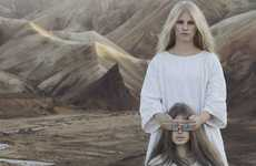 Mythical Priestess Accessories - The Bjorg Jewellery 2012 Collection is Made for the Modern Nomad