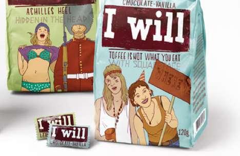 Adolescent Illustrated Branding