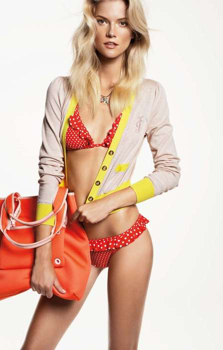 Neon-Hued Hoodies - The Juicy Couture Spring Lookbook Features Top Models