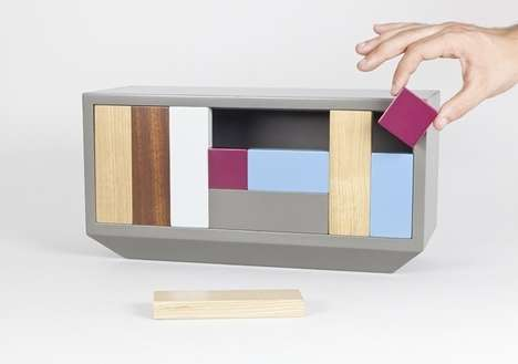 Block Game Cabinets