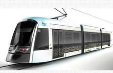 Elaborately Patterned Light Rail - Libya's Tramway Combines Current Tech with Ancient Deck