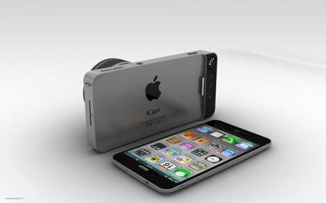 The iCam Concept Case Would be the Sleekest Addition to the iPhone 5