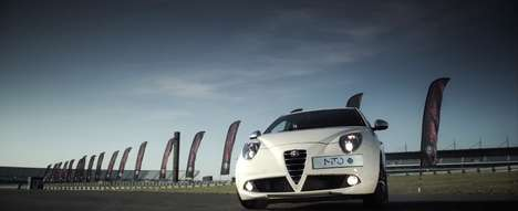 Balloon-Popping Test Drives - Alfa Romeo Pops 2500 Balloons in World Record Attempt