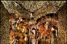 Opulent Nature Storefronts - The Bergdorf Goodman Carnival of the Animals Display is Grand