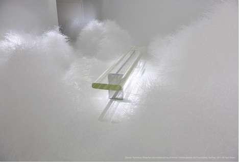 Plastic Cloud-Like Installations