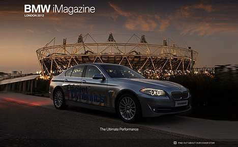 Automaker Sports Publications - BMW iMagazine Olympics Edition Focuses on Sport & Athletes