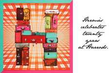 Scarf Styling Sessions - Hermes' 'Paris Mon Ami' Campaign Offers Shoppers a Fab Fashion Experience