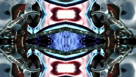 Kaleidoscopic Car Race Shorts