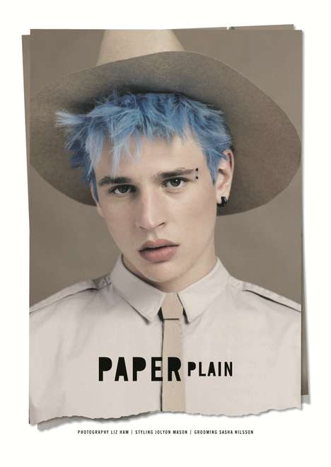 Blue-Haired Boy Editorials