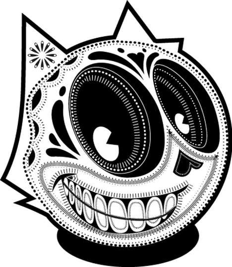 Sugar-Skulled Icons