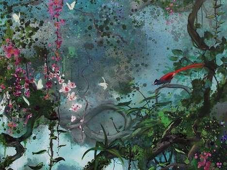 Pretty Paradisiacal Murals