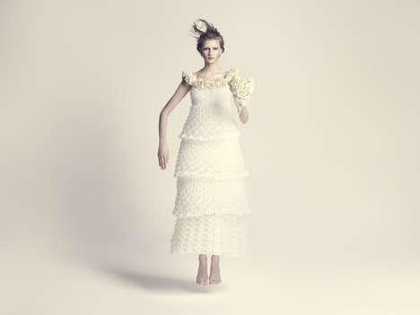 Bombastically Bloated Bridal Dresses