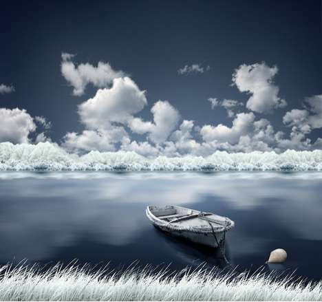 Magnificent Blue World Captures