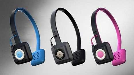 Headset MP3 Docks