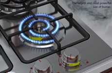 Electric-Looking Cooktops