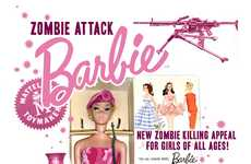 Undead Survival Dolls - Zombie Attack Barbie Gets Lock and Loaded for the Apocalypse