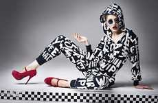 Haute Hipster Hoodies - The Shhh!utter Magazine 'Heart's All Gone' Issue is Chic