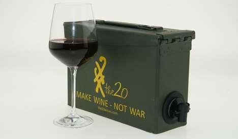 Artillery Booze Dispensers