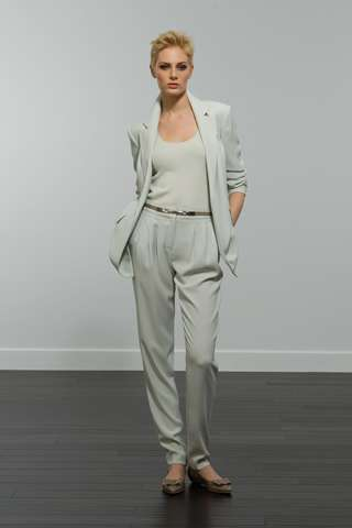 Streamlined Monochromatic Fashion