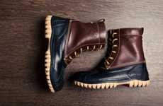 Italian Couture Hikers - The Diemme Fall Duck Boot is a European Take on an American Classic