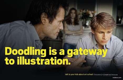 Teenage Art Abuse Ads