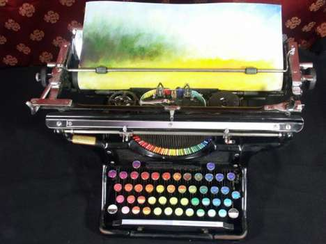 Colorful Typing Machines