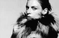 Fur-Obsessed Editorials - The Liberty Ross for Gioia Magazine Photo Shoot is Sizzling Hot