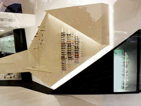 Geometric Eyewear Boutiques