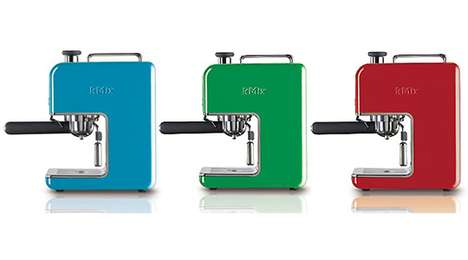 Minimalist Multicolored Coffeemakers