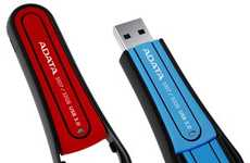 Shock-Resistant USBs - ADATA S107 is a Flash Drive That Can Handle Accidental Mishaps