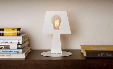 Two-Dimensional Desk Illuminators