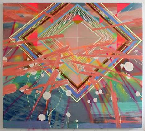 Psychedelic Geometry Paintings