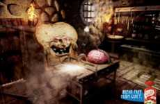 Evil Bread Ads - The 'Princesa Break Free From Guilt' Campaign Features a Frankenstein Theme