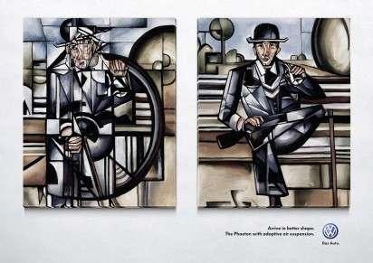 Fractured Art Auto Ads