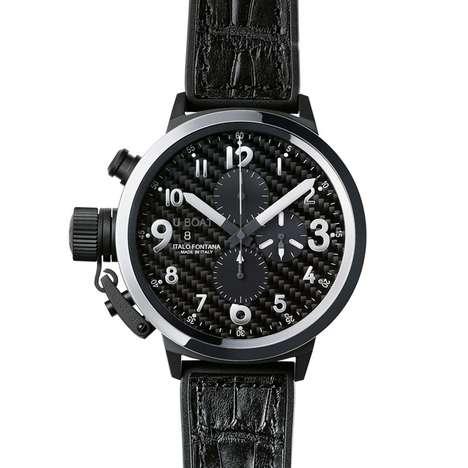 Darkened Metallic Watches