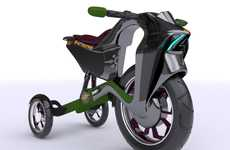 Colombian Eco-Trikes - The Synapse Electric Bike is Designed for the Youth of Bogota
