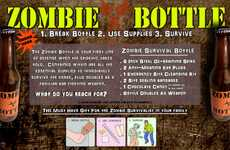 Emergency Undead Containers - Zombie Survival Bottle Gets You Prepared for the Apocalypse