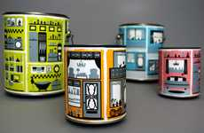 Delectably Decorated Branding - Dutch Boy Paint Packaging Provides Illustrated Interior Glimpses