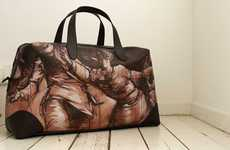 Graffiti-Printed Luxury Luggage