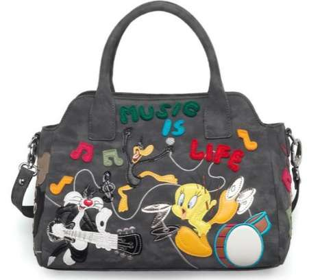 Iconic Cartoon Carryalls - Braccialini Looney Tunes and Cartoline Collections are Vibrant & Fun