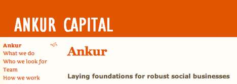 Social Business Supporters - Ankur Capital Helps Impact-Driven Businesses in India Succeed
