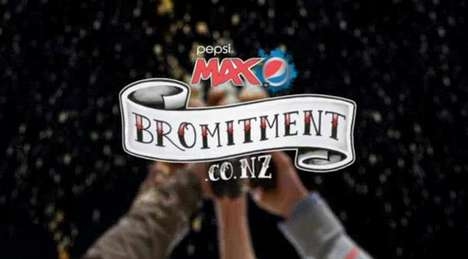 Men-Only Social Campaigns - Pepsi Max 'Bromitment' Wants You to Make a Promise to Your Buddies